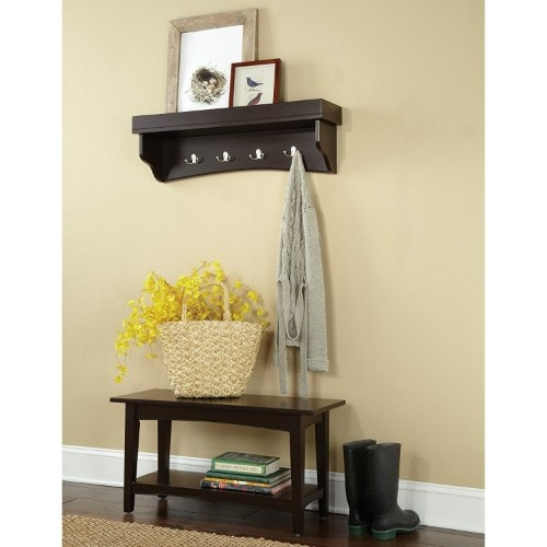 Entryway Bench And Coat Rack Set 2019 ( With Storage